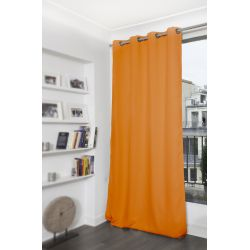 Rideau Occultant Uni Orange MC230